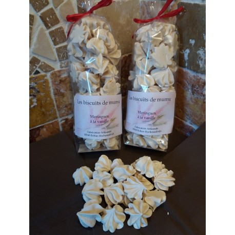 Meringues à la vanille - Les Biscuits de Mumu