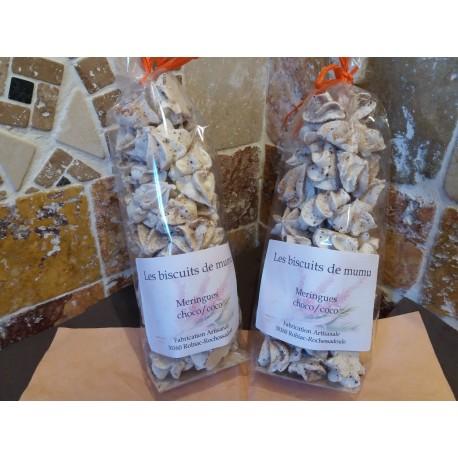 Meringues choco/coco - Les Biscuits de Mumu