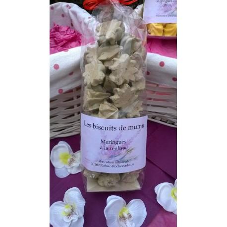 Meringues à la réglisse - Les Biscuits de Mumu